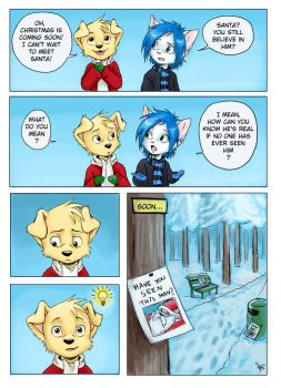 christmas comic - Sam by oomizuao