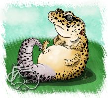 Leopard Gecko Daily Creature by NadilynBeato