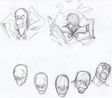 Spawn stress sketches from yesterday 3 by ConstantM0tion