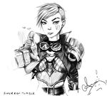 Vi sketch by Risu-ruru