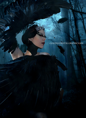 The Black Swan by MysticSerenity