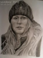 Lindsey Vonn by 1drawingGirl