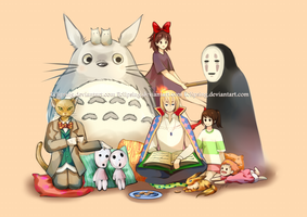 Ghibli Story Time by Eclipsing