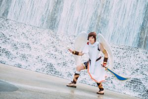 Pit Kid Icarus Cosplay by LumpySnorlax
