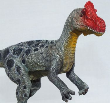 Cryolophosaurus (3 of 4) by Lithographica