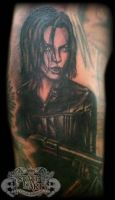 Kate Beckinsale by state-of-art-tattoo