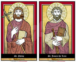 Sts Philip and James by NowitzkiTramonto