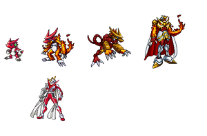 Shoutmon .Alpha. Evo-Line by MiltosSofos