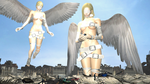 Giantess Angels by KyleC98