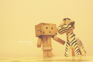 Danbo_friends by faintart