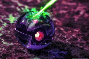 Pokeball of Genesect by Jonathanjo