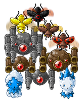 BH2: Foes 9 by KupoGames