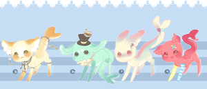 Gummi Shark Puppies 12 .:Closed:. by Pieology