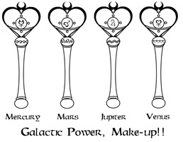 Galactic Power Makeup - Inner by Zeldaboyz