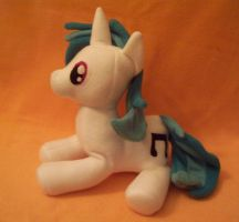 DJ Pon3 Plush Laying Down by Miiroku