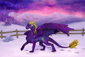 Contest/Event: Purple Beauty by Samantha-dragon