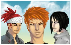 + Summer Boys + bleach by chibitensai