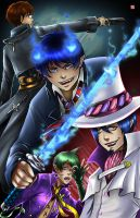 Blue Exorcist by TyrineCarver