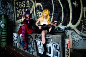 We Are Angels - Panty and Stocking by Mostflogged