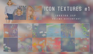 ICON Textures #1 25P By vul3m3 by vul3m3