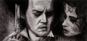 Sweeney Todd: 'Leave me...' by AnsticeWolf