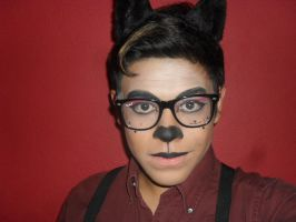 Hipster Kitty - Makeup test by RyanReta