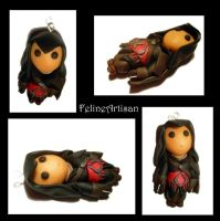 Ezio, Assassin's Creed Revelations Figurine- Black by FelineArtisan