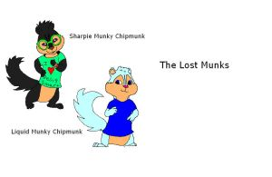 The Lost Munks by ScourgeXNazo2