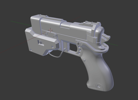 Pistol [WIP] by Dalus