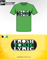 Frosh toxic Lyric logo by Momage