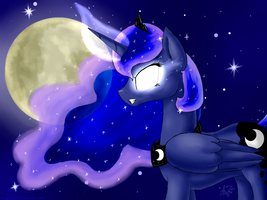 Night princess by ArtyJoyful