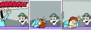 Jon is frustrated with Weegee by Koko-Kat