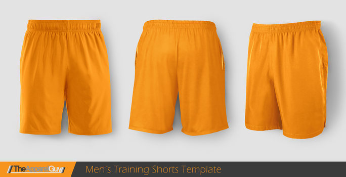 Training Shorts Template by TheApparelGuy