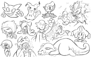 Pokemon Doodles