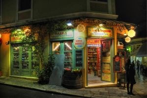 Traditional Grocery in Athens by etsap