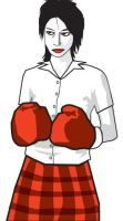 Boxing Girl by prudentia
