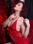 Red Lingerie by d2l2