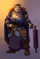 Dwarf female by Nord-Sol