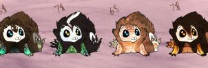 Cutes by SinCommonStitches