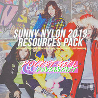 SNSD Sunny for Nylon - RESOURCE PACK by pocket-girl