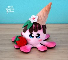 ChocoBerry Icecream Squiddy by Dragons-Garden