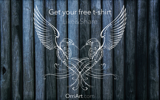 Free T-Shirt Giveaway by Orriart