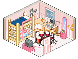 Event 3: Reina and Juliette bedroom by Rainikloud