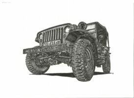 jeep willys by przemus