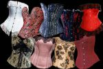 Corset PACK 1 by BrokenFeline-Stock