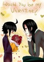 would you be my valentine? by Danny-chama
