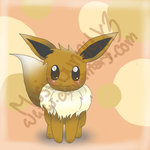 Eevee (: by MusicBunnyx3