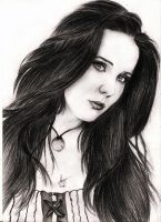Simone Simons fan Art by AlisthemA