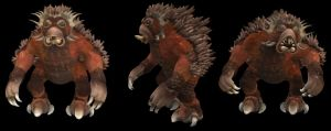 Spore Creation: Gantonoc by Existent-effigy