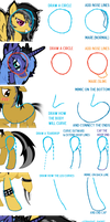 A Guide to Drawing Ponies v1 (CHECK DESCRIPTION) by blazeLimit